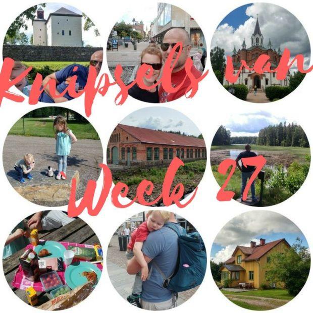 Knipsels van week 27