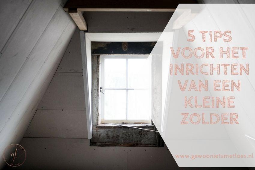 [:nl]5 tips voor het inrichten van een kleine zolder[:]
