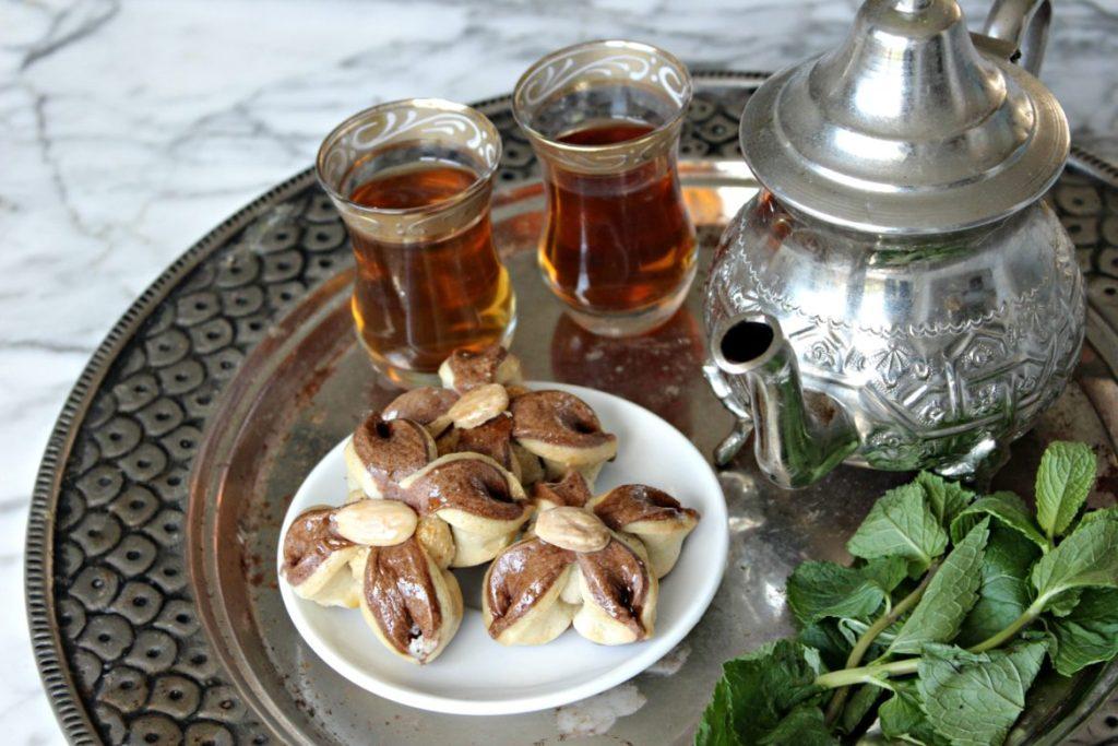 vegan algerijnse bloemkoekjes