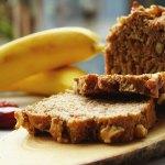 vegan suikervrij bananenbrood
