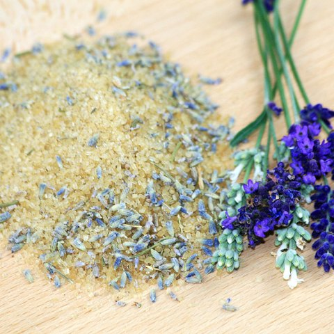 Lavendel Zucker