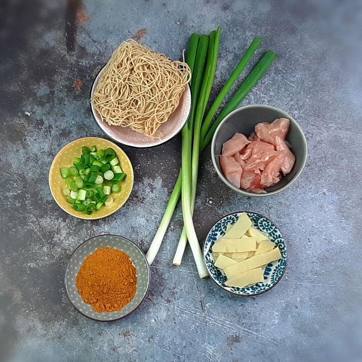 Curry Bombay mit anderen Zutaten