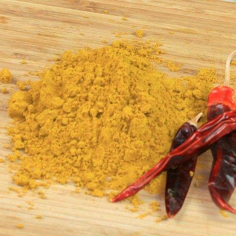 Ein Berg von Curry-Endstufe