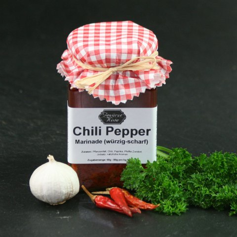 Marinade Chili Pepper