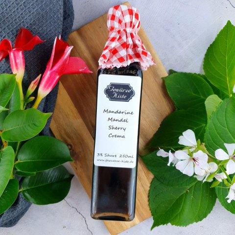 Mandarine Mandel Sherry Crema