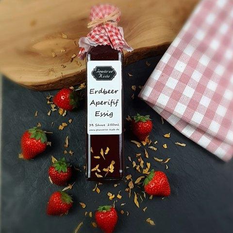 Erdbeer Aperitif Essig