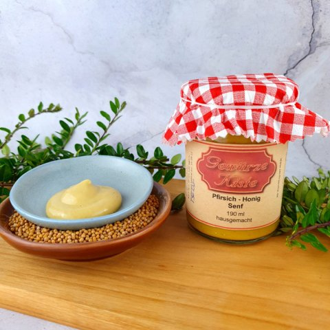 Pfirsich-Honig-Senf