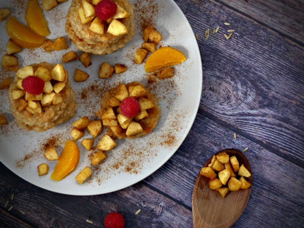 Reispuffer vegan Rezept Pancakes