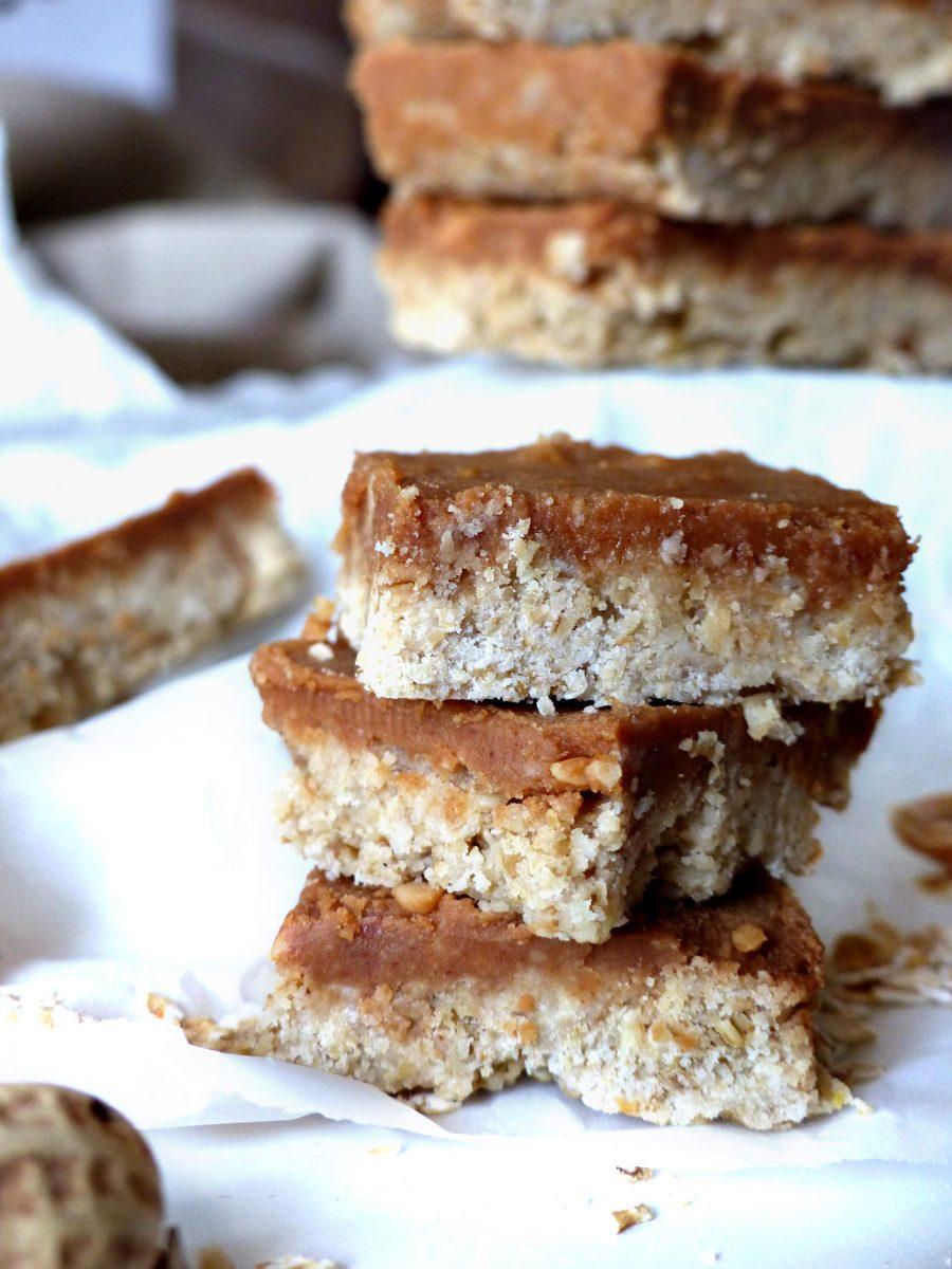 Erdnussriegel Riegel vegan zuckerfrei