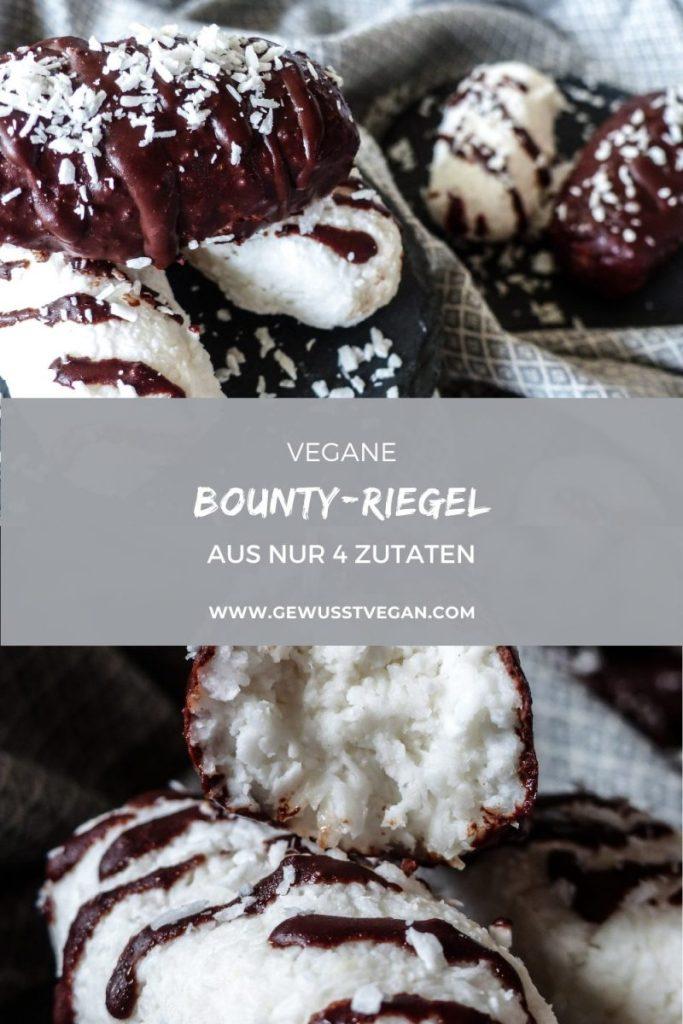 vegane Bounty Riegel