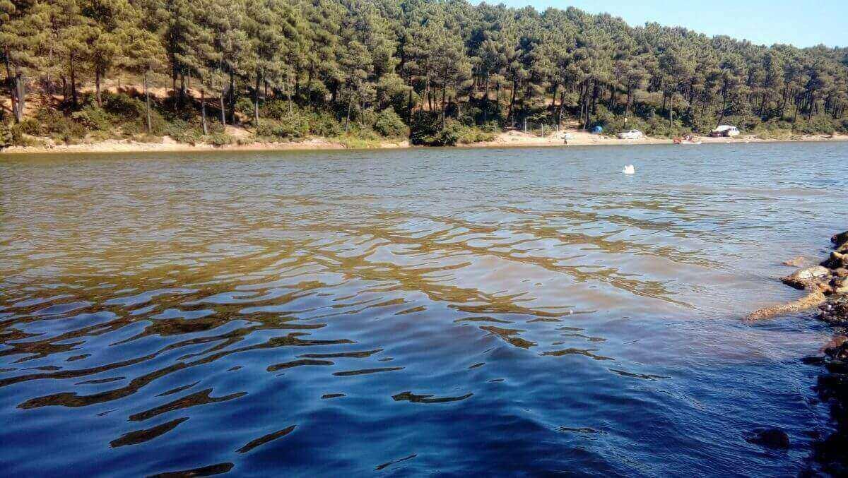 Aydos Ormanı mesire Alanı gölet