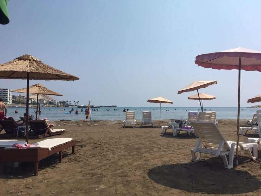Mersin Mavi Bayraklı Plajlar kumkuyu