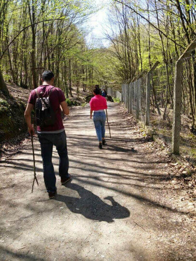 Polonezköy ormanı trekking