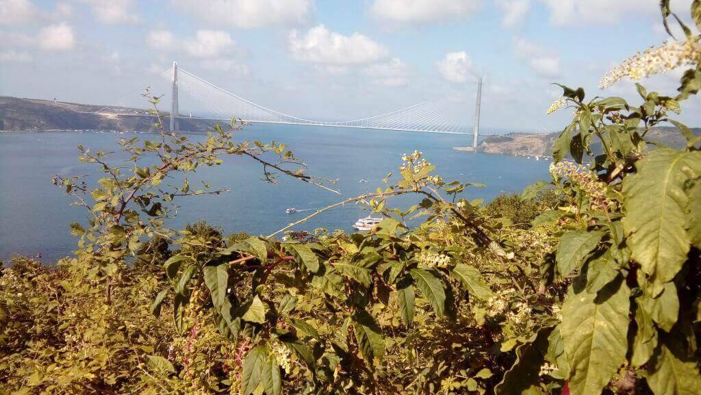 Yoros Kalesinden Yavuz Sultan Selim Köprüsü