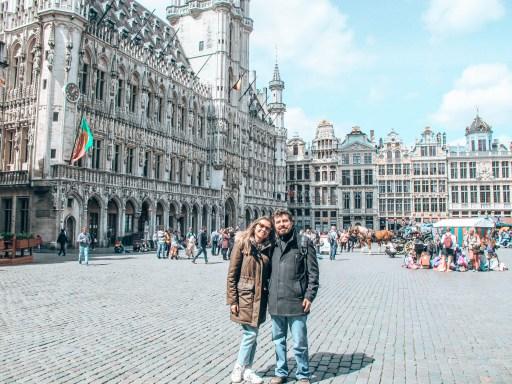 Brüksel'de gezilecek yerler - Grand Place- Büyük Meydandayız