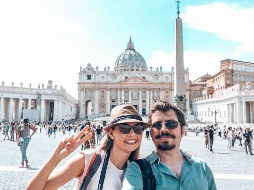 Rome Basılıca dı San Pıetro Italy