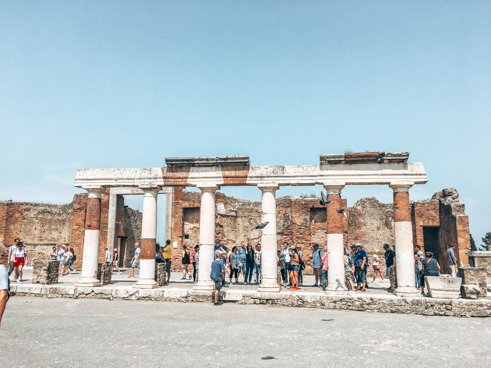 Pompei İtalya