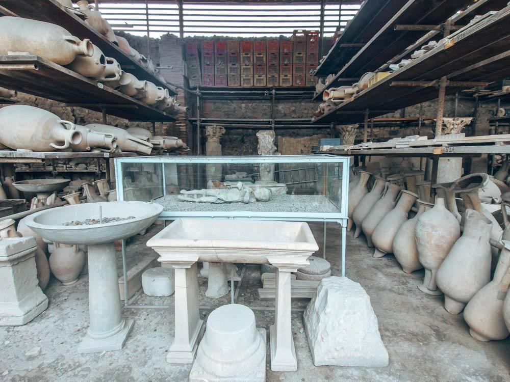 Pompei taşlaşan insanlar