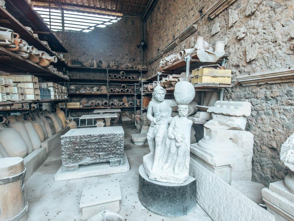 Pompei Antik Kenti Taşlaşan İnsanlar