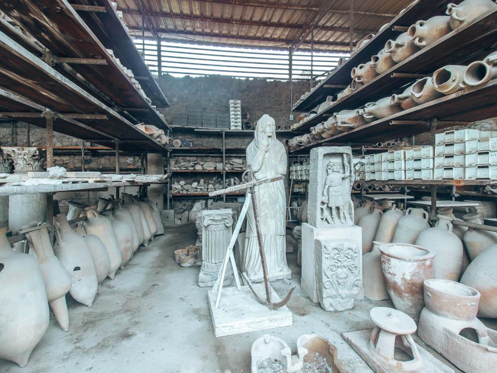 İtalya Pompei Antik Şehri