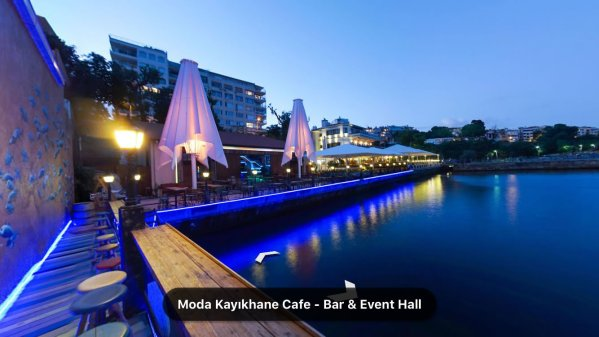 Moda Kayıkhane Cafe – Bar & Event Hall