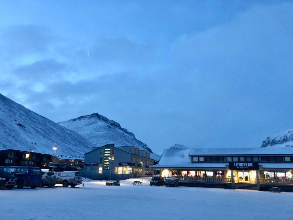 Svalbard'da Gezilecek Yerler