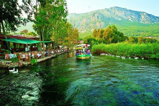 Muğlada-Gezilecek-Yerler-Azmak-Nehri