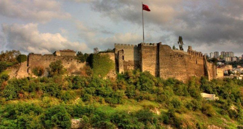 Trabzon-gezilecek-yerler-Trabzon-Kalesi