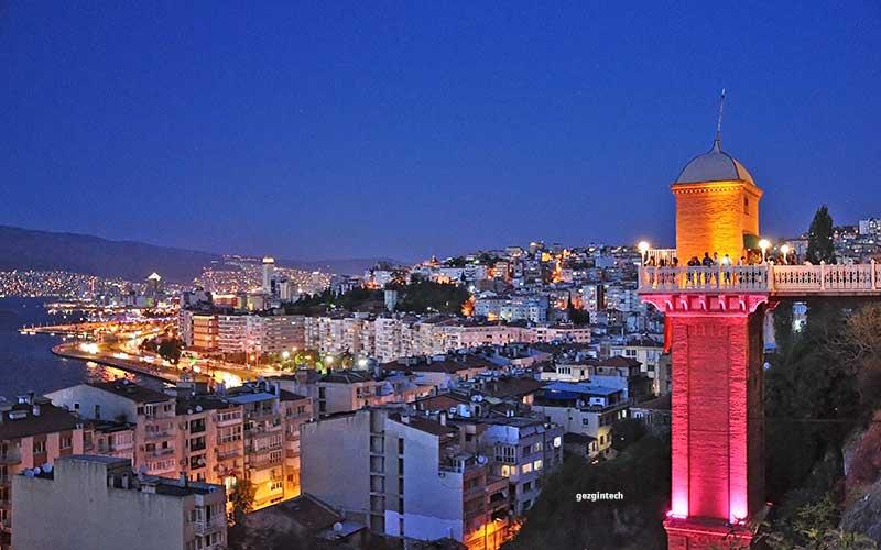 İzmir-Gezilecek-Yerler-İzmir-Tarihi-Asansör