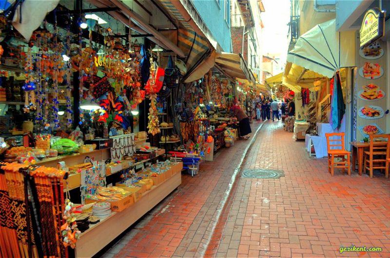 Amasra Tarihi Çekiciler Çarşısı