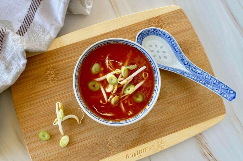 De lekkerste Chinese tomatensoep maak je zo