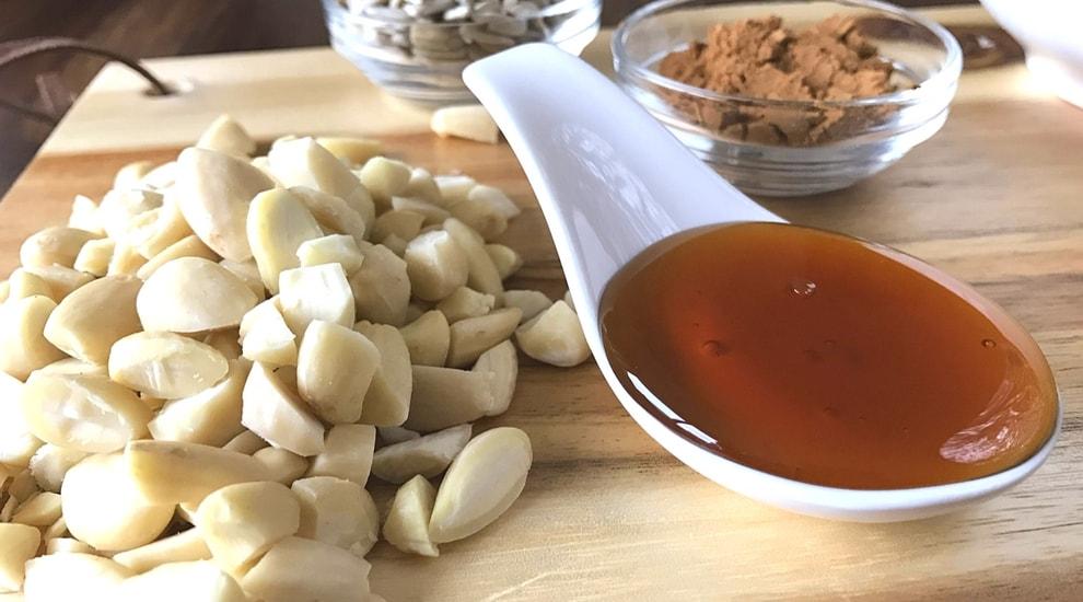 Gezond ontbijt: speculaas granola