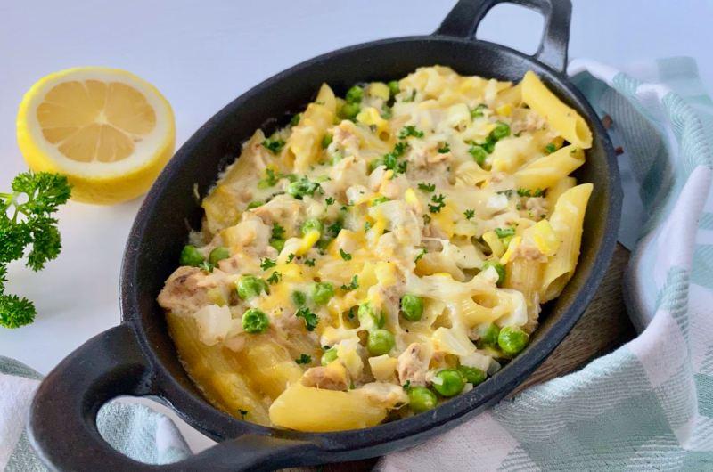 Makkelijk eenpansgerecht: Pasta met tonijn