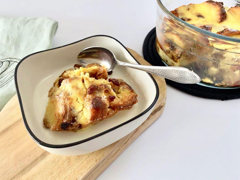 croissant broodpudding