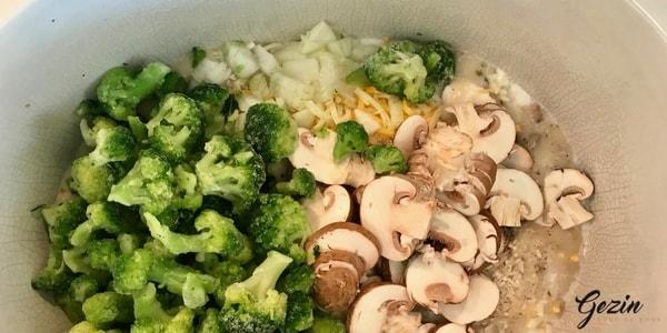 slowcooker broccoli rijst geroerd