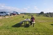 Atlantik kıyısında piknik