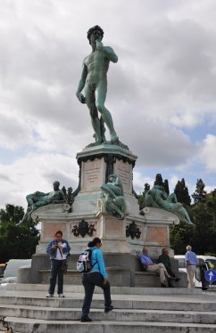 Michelangelo'nun David heykeli