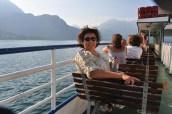 Como gölünde seyahat