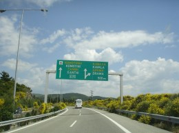 Via Egnatia üzerinde Kavala ayrımı
