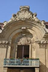Sarayın avlu cephesi