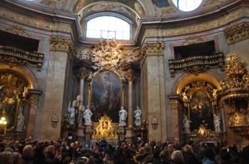 St. Peter's kilisesinde koro