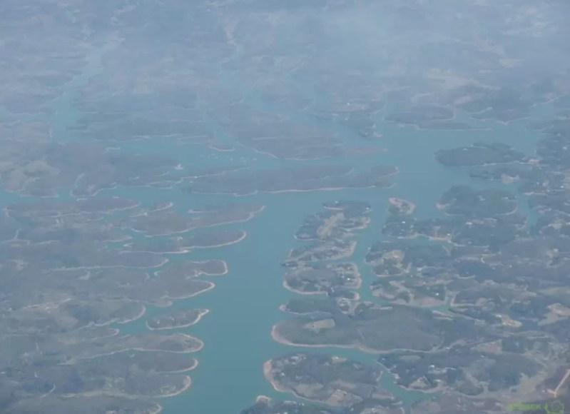 Uçaktan Manzara, Madagaskar Vizesi