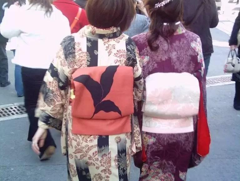 Geleneksel Japon Kıyafeti, Kyoto'da Sonbahar