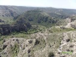 Cam Teras'tan Ulubey Kanyonu Manzarası