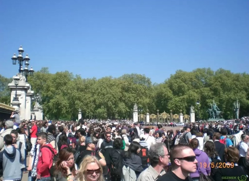 Buckingham Sarayı'nda Tören - Londra Gezisi Notları
