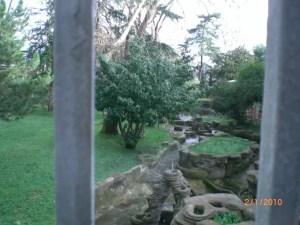 Yıldız sarayının bahçesine bir bakış