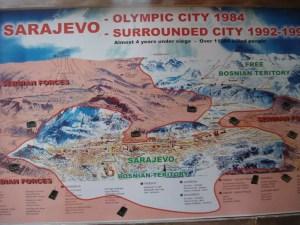 Saraybosna Haritası