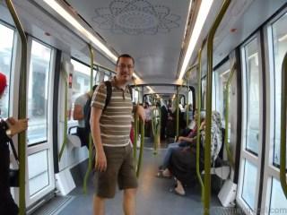 Fas Gezisi Notları, Kazablanka Gezilecek Yerler, Tramvay Hattı