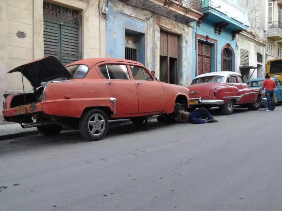 Küba Gezisi Notları, Havana Gezilecek Yerler, Havana Sokakları