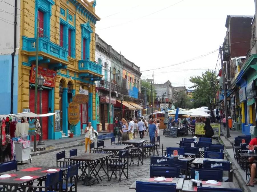 La Boca sokakları
